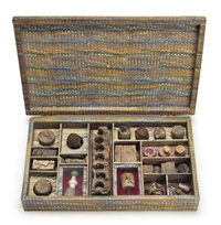 untitled [cork or varia box] by joseph cornell